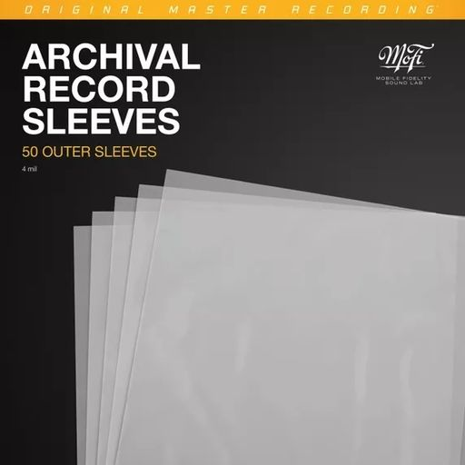 Archival Record Outer Sleeves (50kpl)