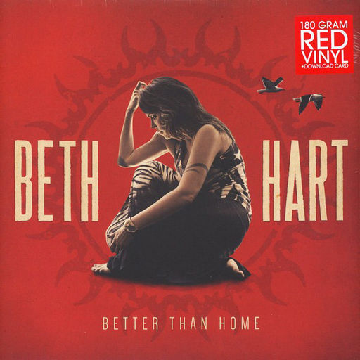 Beth Hart : Better than Home 180gr Red Vinyl