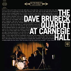 The Dave Brubeck Qartet: At Carnagie Hall